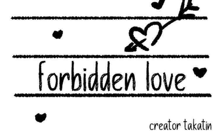 Forbidden Love (Bl)