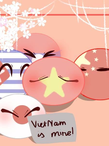 ( Countryhumans ) Câu chuyện xuyên không với game của VietNam