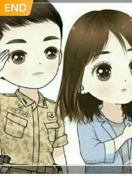 istri muda tentara tampan