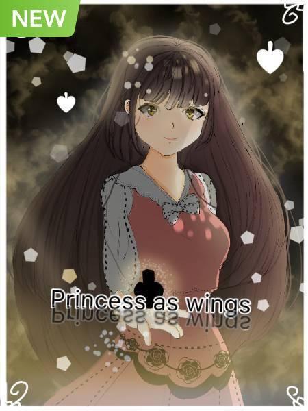 Princess as wings