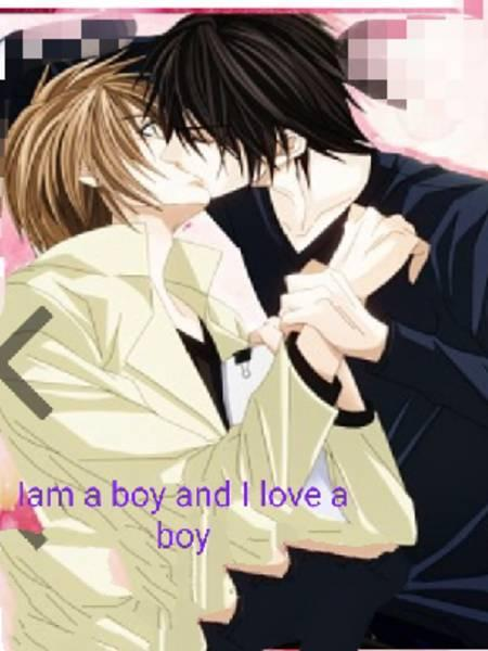 I am a boy and I love a boy